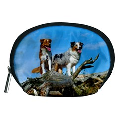 mini Australian Shepherd group Accessory Pouches (Medium)
