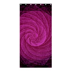 Purple Background Scrapbooking Abstract Shower Curtain 36  X 72  (stall)