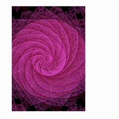 Purple Background Scrapbooking Abstract Large Garden Flag (Two Sides)