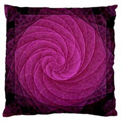 Purple Background Scrapbooking Abstract Large Cushion Case (One Side)
