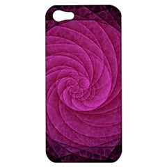 Purple Background Scrapbooking Abstract Apple iPhone 5 Hardshell Case
