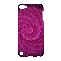 Purple Background Scrapbooking Abstract Apple Ipod Touch 5 Hardshell Case