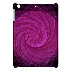 Purple Background Scrapbooking Abstract Apple Ipad Mini Hardshell Case