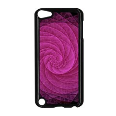 Purple Background Scrapbooking Abstract Apple iPod Touch 5 Case (Black)