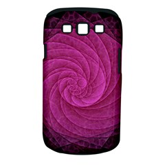 Purple Background Scrapbooking Abstract Samsung Galaxy S III Classic Hardshell Case (PC+Silicone)