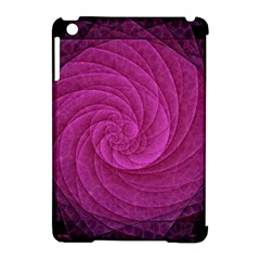 Purple Background Scrapbooking Abstract Apple iPad Mini Hardshell Case (Compatible with Smart Cover)