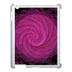 Purple Background Scrapbooking Abstract Apple Ipad 3/4 Case (white)