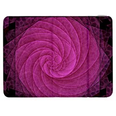 Purple Background Scrapbooking Abstract Samsung Galaxy Tab 7  P1000 Flip Case
