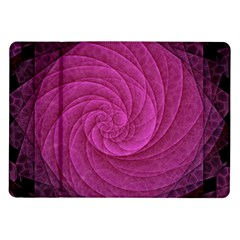 Purple Background Scrapbooking Abstract Samsung Galaxy Tab 10 1  P7500 Flip Case