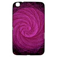 Purple Background Scrapbooking Abstract Samsung Galaxy Tab 3 (8 ) T3100 Hardshell Case