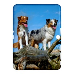 mini Australian Shepherd group Samsung Galaxy Tab 4 (10.1 ) Hardshell Case