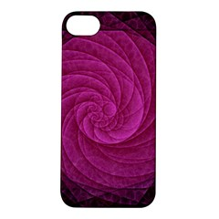 Purple Background Scrapbooking Abstract Apple Iphone 5s/ Se Hardshell Case