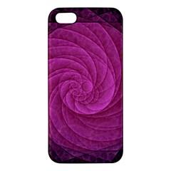 Purple Background Scrapbooking Abstract iPhone 5S/ SE Premium Hardshell Case