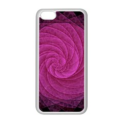Purple Background Scrapbooking Abstract Apple Iphone 5c Seamless Case (white)