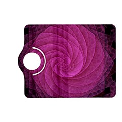 Purple Background Scrapbooking Abstract Kindle Fire Hd (2013) Flip 360 Case