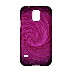 Purple Background Scrapbooking Abstract Samsung Galaxy S5 Hardshell Case