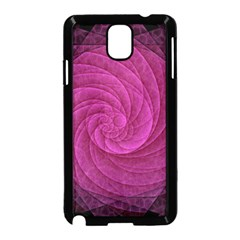 Purple Background Scrapbooking Abstract Samsung Galaxy Note 3 Neo Hardshell Case (Black)