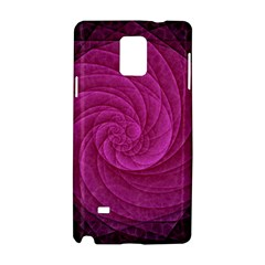 Purple Background Scrapbooking Abstract Samsung Galaxy Note 4 Hardshell Case