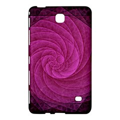 Purple Background Scrapbooking Abstract Samsung Galaxy Tab 4 (7 ) Hardshell Case