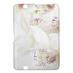 Orchids Flowers White Background Kindle Fire HD 8.9