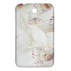 Orchids Flowers White Background Samsung Galaxy Tab 3 (7 ) P3200 Hardshell Case
