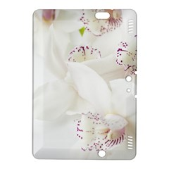 Orchids Flowers White Background Kindle Fire Hdx 8 9  Hardshell Case