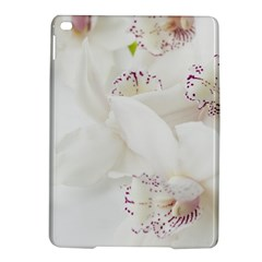 Orchids Flowers White Background iPad Air 2 Hardshell Cases