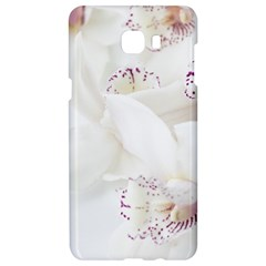 Orchids Flowers White Background Samsung C9 Pro Hardshell Case