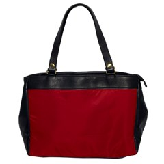 USA Flag Red Blood Red classic solid color  Office Handbags