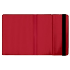 USA Flag Red Blood Red classic solid color  Apple iPad 2 Flip Case