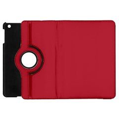 USA Flag Red Blood Red classic solid color  Apple iPad Mini Flip 360 Case