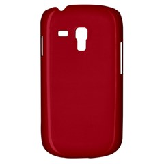 Usa Flag Red Blood Red Classic Solid Color  Galaxy S3 Mini