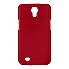 USA Flag Red Blood Red classic solid color  Samsung Galaxy Mega 6.3  I9200 Hardshell Case