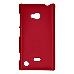 USA Flag Red Blood Red classic solid color  Nokia Lumia 720