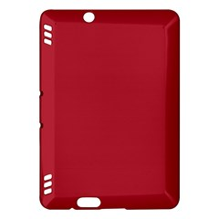 USA Flag Red Blood Red classic solid color  Kindle Fire HDX Hardshell Case