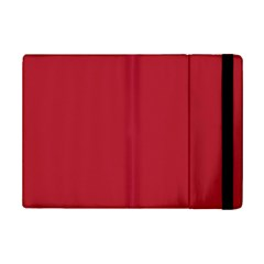 USA Flag Red Blood Red classic solid color  iPad Mini 2 Flip Cases