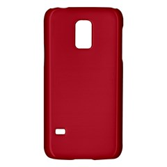 USA Flag Red Blood Red classic solid color  Galaxy S5 Mini
