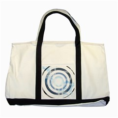 Center Centered Gears Visor Target Two Tone Tote Bag