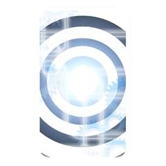 Center Centered Gears Visor Target Memory Card Reader