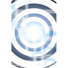 Center Centered Gears Visor Target 5 5  X 8 5  Notebooks