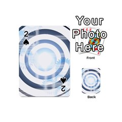 Center Centered Gears Visor Target Playing Cards 54 (Mini)