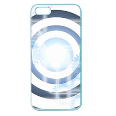 Center Centered Gears Visor Target Apple Seamless iPhone 5 Case (Color)