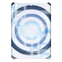 Center Centered Gears Visor Target Apple iPad Mini Hardshell Case