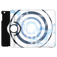 Center Centered Gears Visor Target Apple Ipad Mini Flip 360 Case