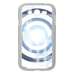 Center Centered Gears Visor Target Samsung Galaxy Grand DUOS I9082 Case (White)