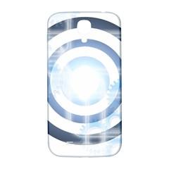 Center Centered Gears Visor Target Samsung Galaxy S4 I9500/I9505  Hardshell Back Case