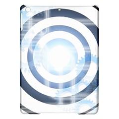 Center Centered Gears Visor Target Ipad Air Hardshell Cases