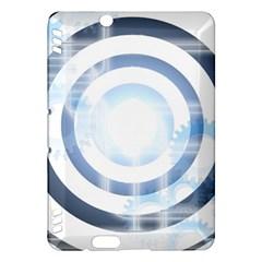 Center Centered Gears Visor Target Kindle Fire Hdx Hardshell Case