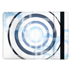 Center Centered Gears Visor Target Samsung Galaxy Tab Pro 12.2  Flip Case