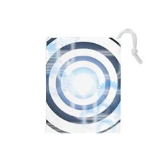 Center Centered Gears Visor Target Drawstring Pouches (small)